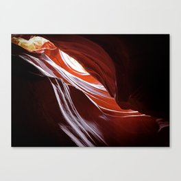 Canyon Abstract 4 Canvas Print