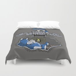 Nightlights and Oven Mitts Duvet Cover