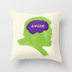 Hulk Phrenology Throw Pillow