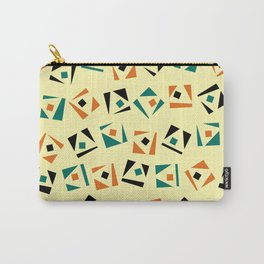Random geometric pattern Carry-All Pouch