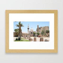 Temple of Luxor, no. 15 Framed Art Print