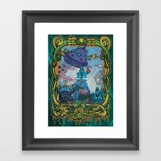 Bombing Jam! Framed Art Print
