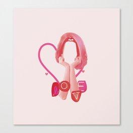 Teenage Love Canvas Print