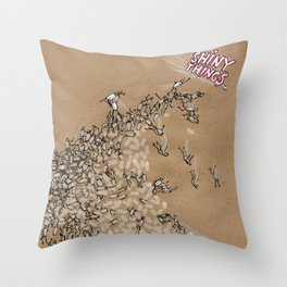 Shiny Things Throw Pillow