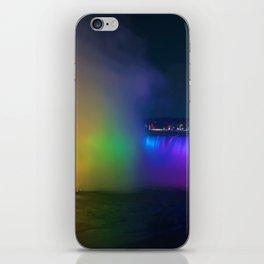 Rainbow Niagara Falls Waterfall (Color) iPhone Skin