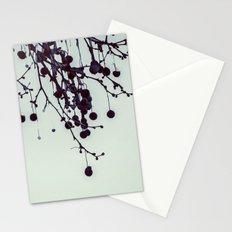 Dead tree balls Stationery Cards