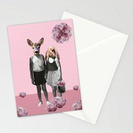 animal love Stationery Cards