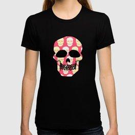 Skull pattern T-shirt
