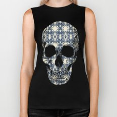 Antique Screaming Skulls Biker Tank