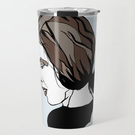 Delia Derbyshire Composer Cambridge Oxford England UK Wall Art Artist Musician Electronic  Travel Mug