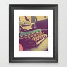 A Hard Days Work  |  Cratedigger Framed Art Print