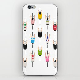 Bicycle squad iPhone Skin