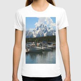 Pleasure Crafts on Jackson Lake T-shirt
