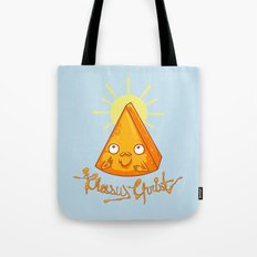 In Cheese We Trust Tote Bag