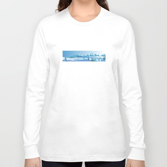 In The Ice Cold North No. 2 Long Sleeve T-shirt