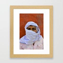 A New Delhi day. Framed Art Print