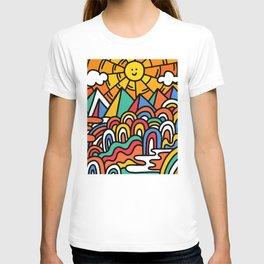 Shiny happy land T-shirt