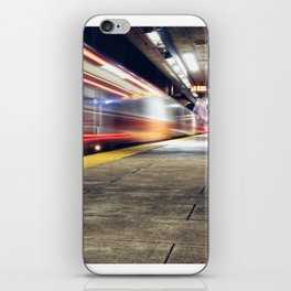 Traveling on Light Streams iPhone Skin