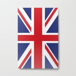 United Kingdom flag Metal Print