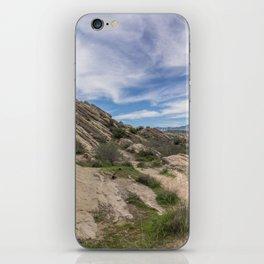 Vasquez Rocks Natural Area iPhone Skin