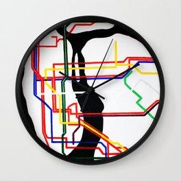 NYC Subway  Wall Clock
