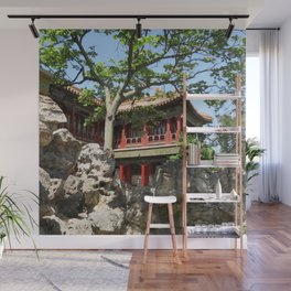 Forbidden City Gardens House  Wall Mural