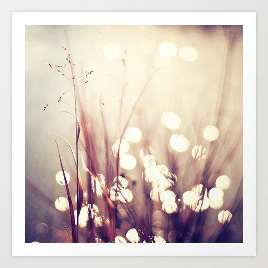 Glimmerings Art Print