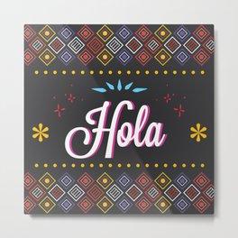 Mexican Craft Metal Print