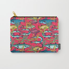 Magical underwater world. Carry-All Pouch