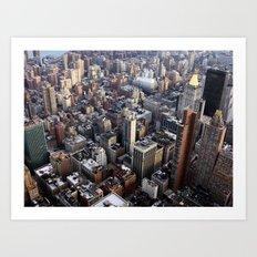 Big city, NYC Art Print