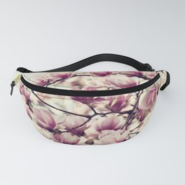 DREAMY AND SOFT - VINTAGE PINK MAGNOLIAS Fanny Pack