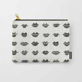Kiss Collection – Black Ink Carry-All Pouch