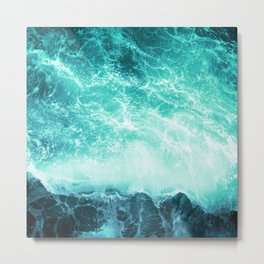 Deep Green Sea Metal Print