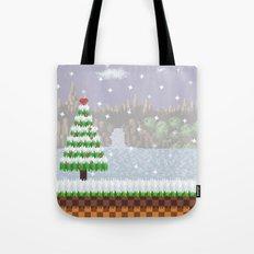 Green Hill Christmas Tote Bag