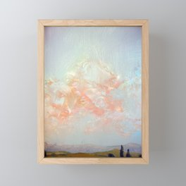 Farnese Pink Glow Framed Mini Art Print