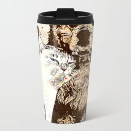 US AND THEM: Not all enemies are what you think Metal Travel Mug