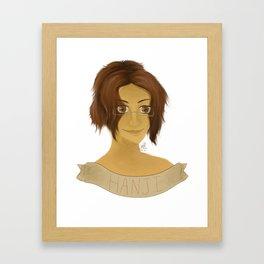 Hanji Zoe - Shingeki no Kyojin Framed Art Print