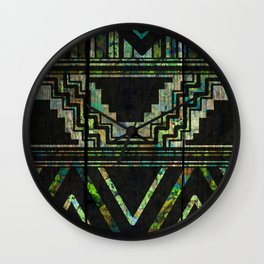 Pride Of The Natives Wall Clock