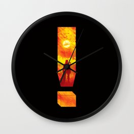 Soldier Of Fortune Wall Clock