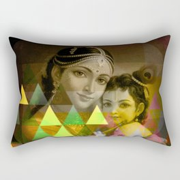 Yashoda's kanha Rectangular Pillow