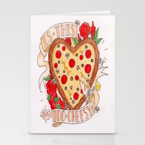 Can I Have a Pizza You? Stationery Cards