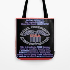 Social INsecurity Tote Bag