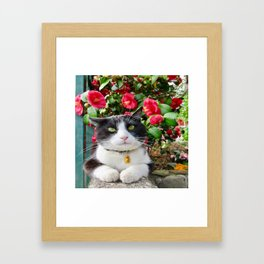 Orazio Prince of flowers Framed Art Print