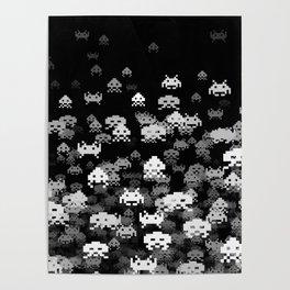 Invaded BLACK Poster