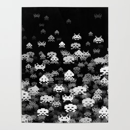 Invaded BLACK Poster