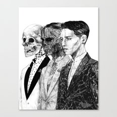 Exquisite corpse Canvas Print