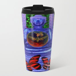 Reaching Nirvana Gautama Buddha Travel Mug
