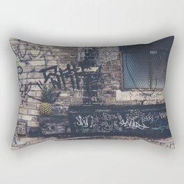 Pineapple in street Rectangular Pillow