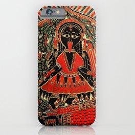 Hindu Kali 16 iPhone Case
