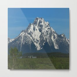 Beautiful Grand Teton NP Metal Print